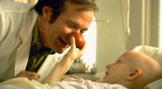 Robin Williams en el film Patch Adams.