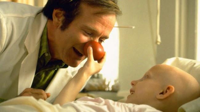 Robin Williams en el film Patch Adams.