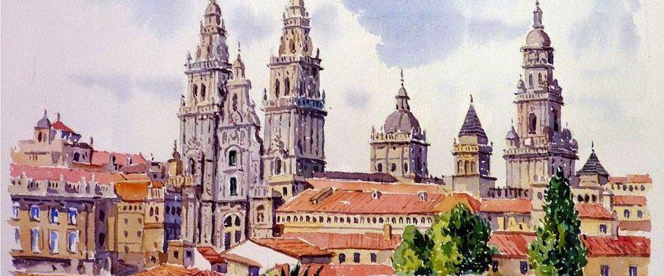 Catedral de Santiago de Compostela / Zacarías Cerezo