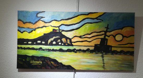 Pintura de Antonio Navarro.