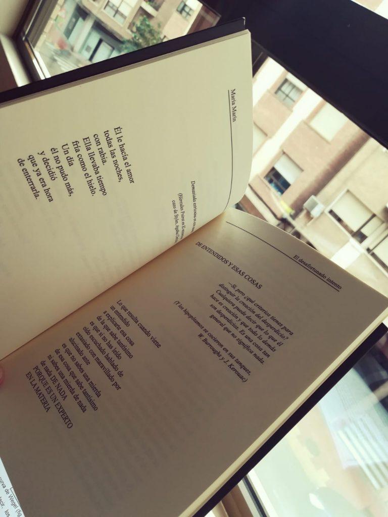 Poemas de El desafortunado intento.