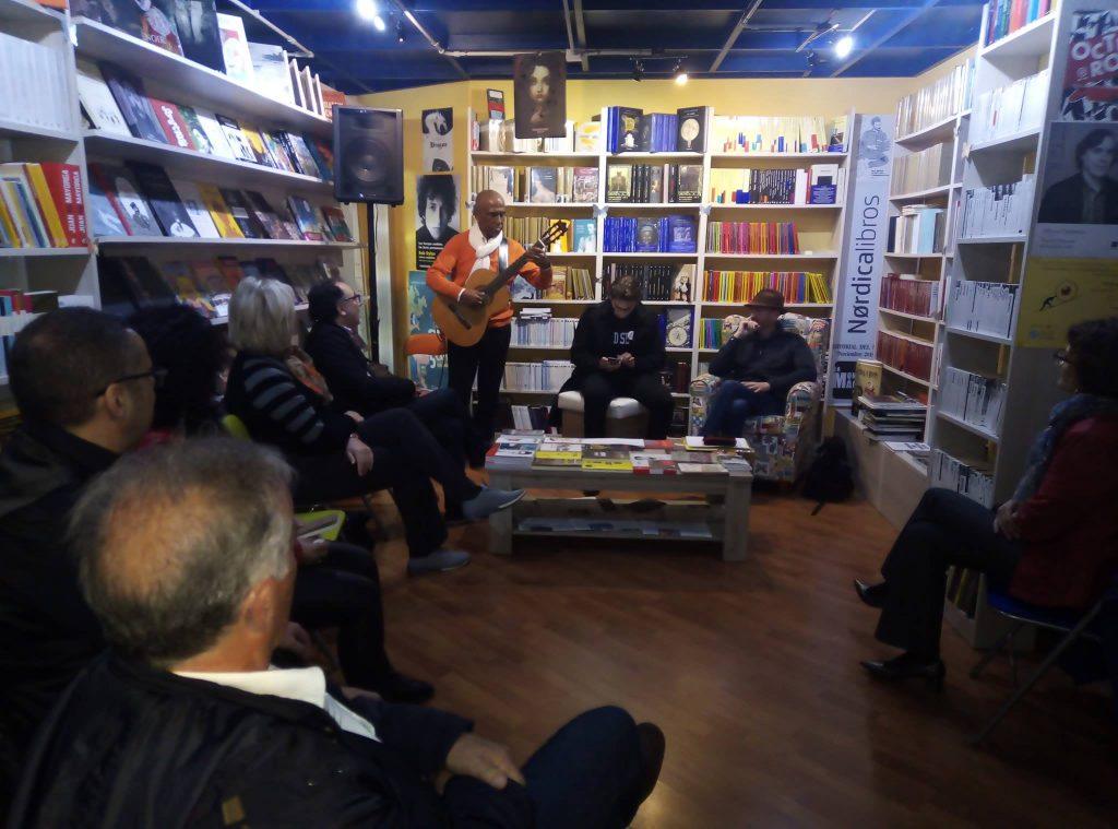 Presentación del libro Heredar la nada, de Pedro Serrano, en Cartagena