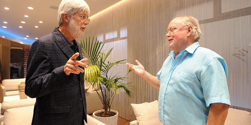 Eloy S. Rosillo y Pedro García Montalvo.