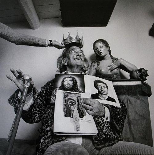 Salvador Dalí, Retratos psicológicos. Alberto Schommer.