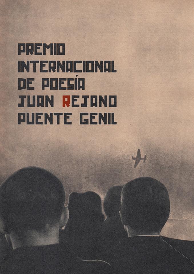 Cartel del premio de poesía.