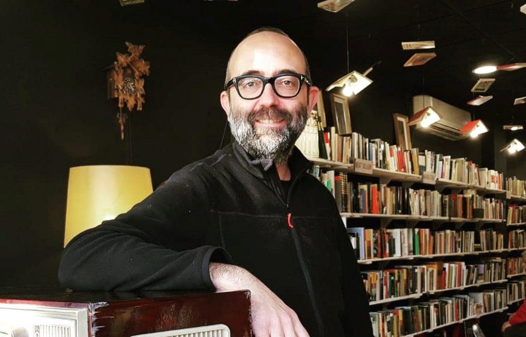 José Daniel Espejo en Libros Traperos.