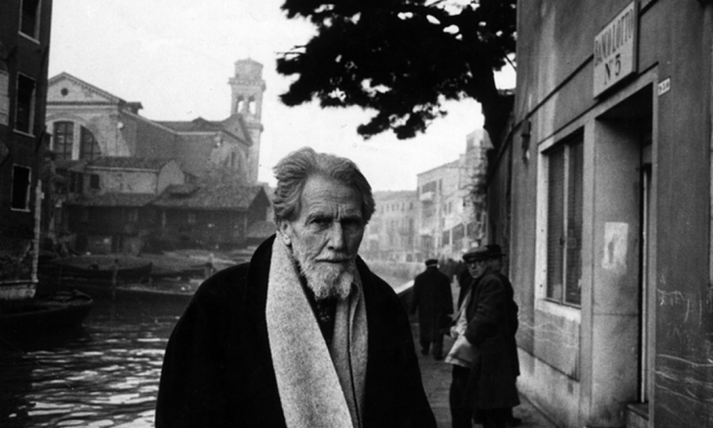 Ezra Pound en Venezia.
