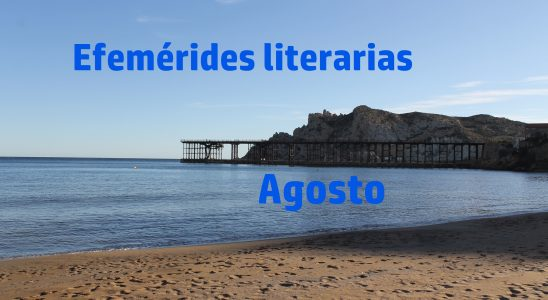Efemérides literarias - agosto