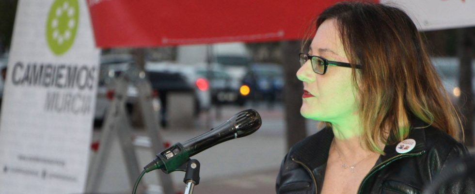 Cristina Morano. Fotografía de Silvia Cabrera.