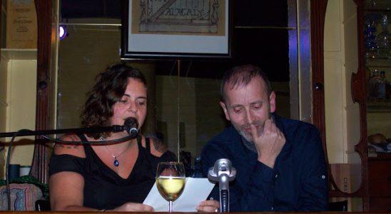 Noelia Illán y Pedro Serrano.