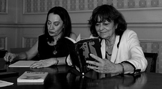 Ana Blandiana junto con Viorica Patea.