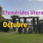 Efemérides literarias - octubre
