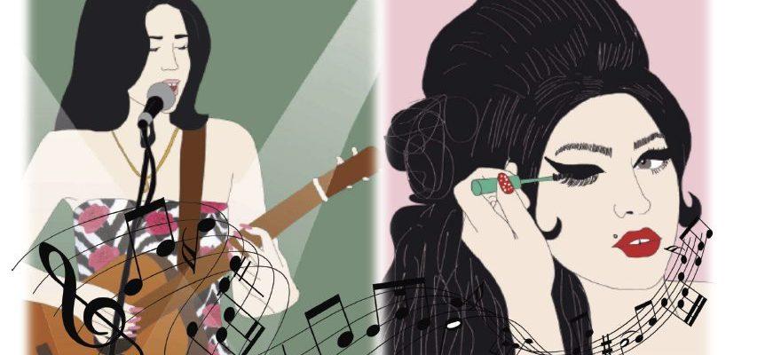 Imágenes de Amy Winehouse, de Pezones Revueltos