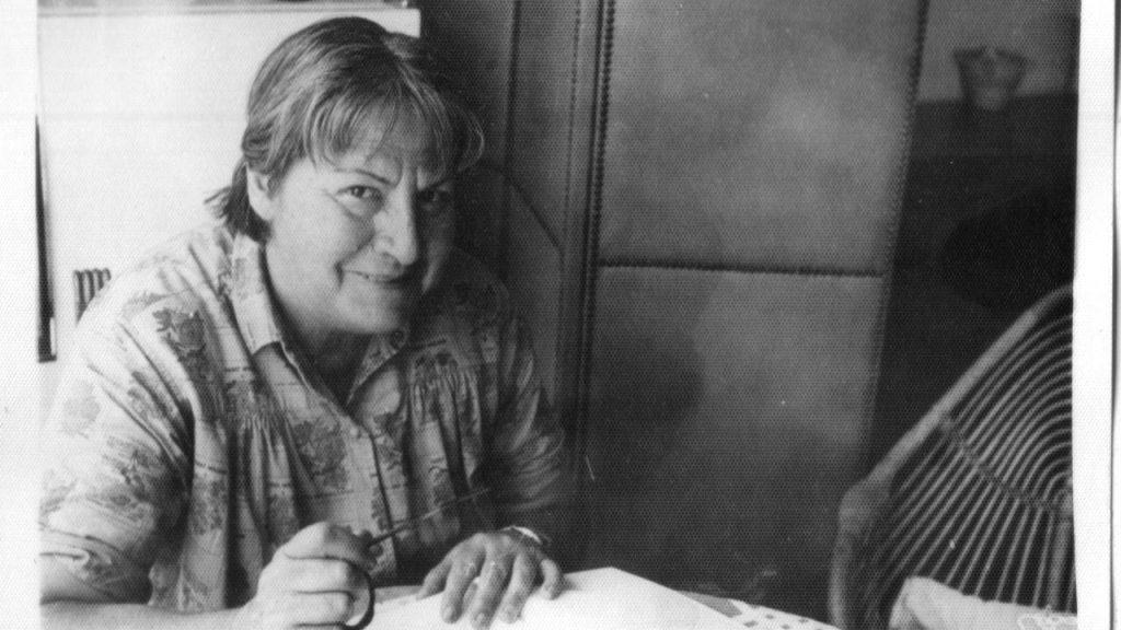 La poeta Gloria Fuertes