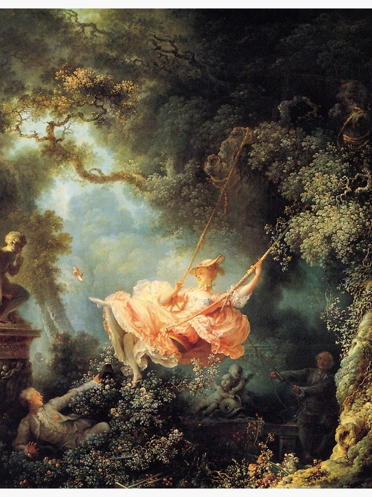 El columpio, de Fragonard.