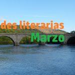 Efemérides literarias de Marzo.