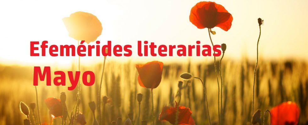 Efemérides literarias mayo